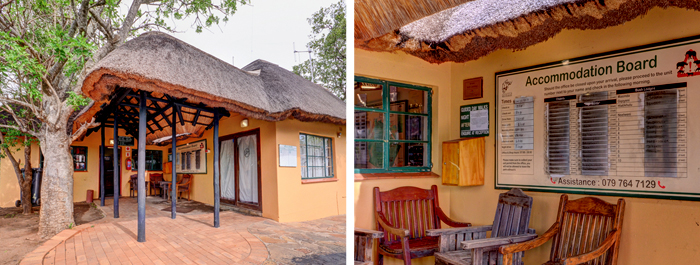 Mpila Camp Reception Hluhluwe iMfolozi uMfolozi Game Reserve Self-catering Accommodation KwaZulu-Natal South Africa Big 5 Safari Park