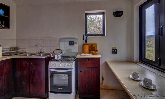 Kitchen area in the self catering unit - Hluhluwe iMfolozi Game Reserve Big 5 Nselweni Bush Camp Self Catering Accommodation Bookings KwaZulu-Natal South Africa