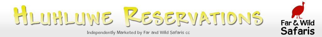 Accommodation bookings,Far and Wild Safaris, Hluhluwe,Imfolozi,Reservations,KwaZulu-Natal,Private Lodge safari reservations