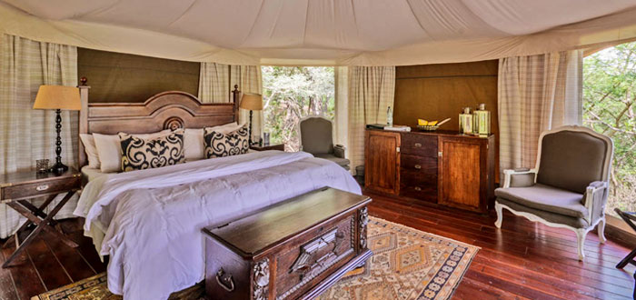 Luxury Tent Thanda Tented Safari Camp Thanda Private Game Reserve KwaZulu-Natal Luxury Game Lodge