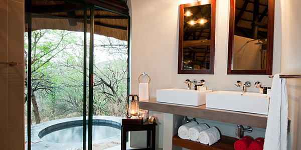 Plunge Pool Chalet Luxury Leopard Mountain Game Lodge Manyoni Private Game Reserve Zululand Rhino Reserve Big 5 Hluhluwe iMfolozi Reservations