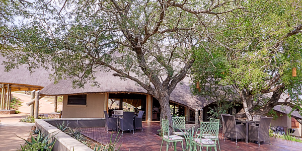 Mavela Game Lodge Dining Deck Manyoni Private Game Reserve Zululand Rhino Reserve Luxury Tented Camp