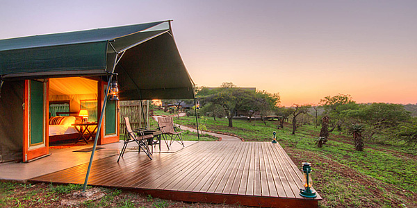 Luxury Tented Camp Mavela Game Lodge Manyoni Private Game Reserve Zululand Rhino Reserve