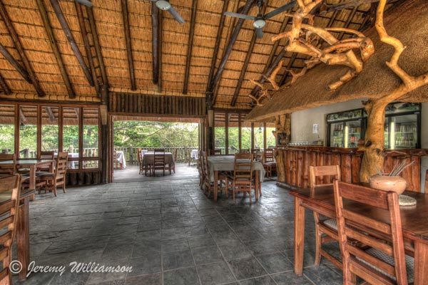 Rhino River Lodge Bar Dining Manyoni Private Game Reserve Zululand Rhino Reserve KwaZulu-Natal South Africa