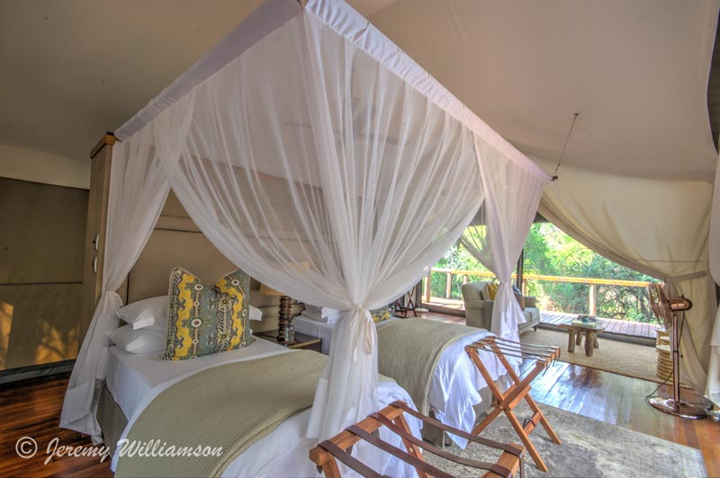 Bedroom - Rhino Sands Safari Camp, Manyoni Private Game Reserve - Hluhluwe iMfolozi Reservations